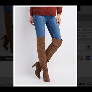 Charlotte Russe ✨ New Thigh High Boots Size 7
